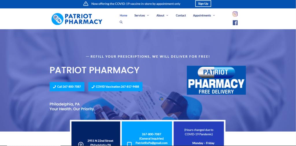 Patriot Pharmacy Philadelphia PA