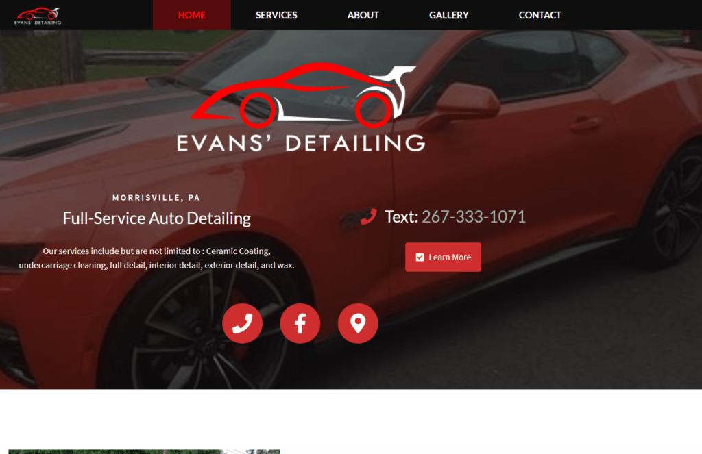 Evan's Auto Detailing